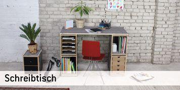 Schreibtisch Mit Regal Werkhaus Online Shop
