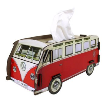Tissue-Box VW T1 - Rot