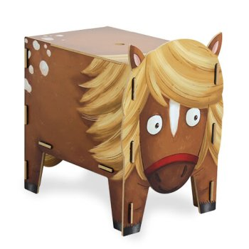 Hocker Vierbeiner - Pony