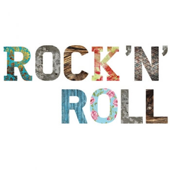 Decor Words - Rock N Roll