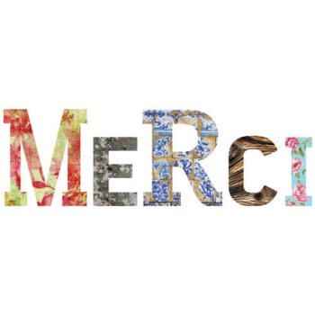 Decor Words - Merci