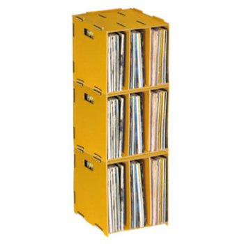 3er-Set - Medienbox LP (stapelbar)