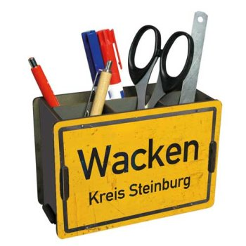 Stiftebox Ortsschild Wacken