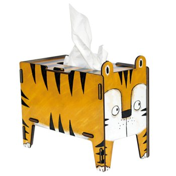Tissue-Box Vierbeiner - Tiger