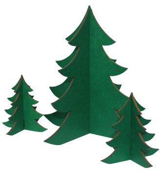 Tannenbaum Grün.Weihnachtsbaum Set Grün