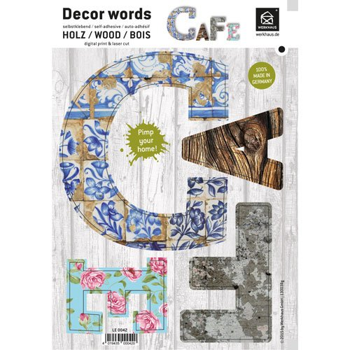 Decor Words - Cafe