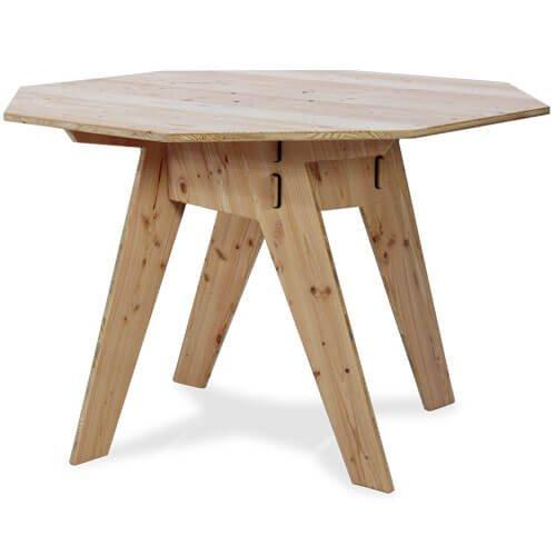 Werkhaus Online Shop Tisch Achteck Douglasie