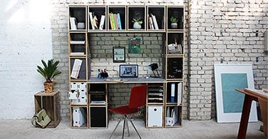 Schreibtisch mit Regal online kaufen