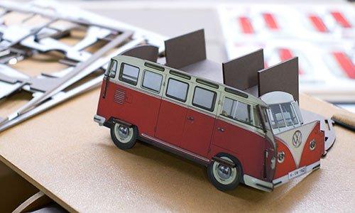 Eine Stiftebox im Stecksystem als VW T1