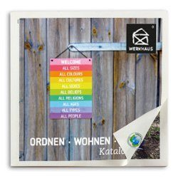 Die Titelseite des WERKHAUS-Katalogs 2021.